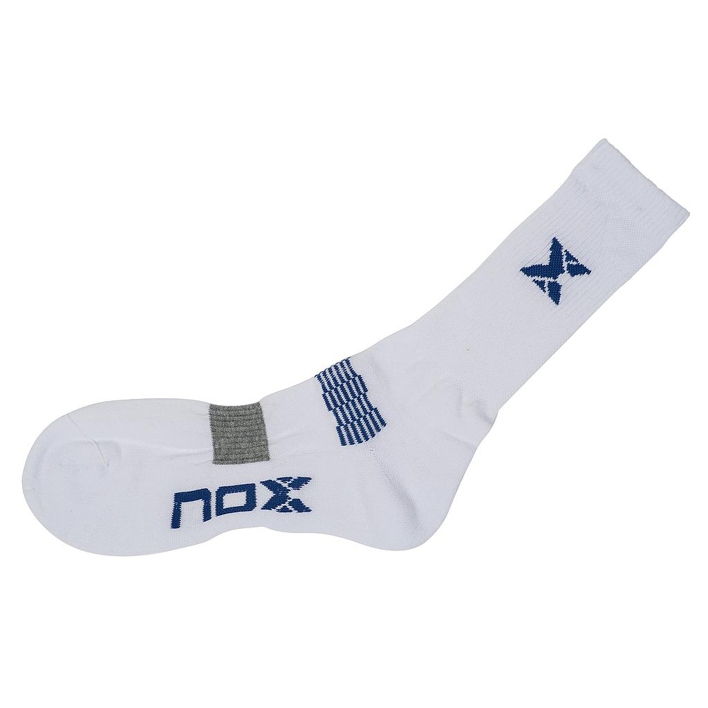 SOCKS NOX WHITE BLUE